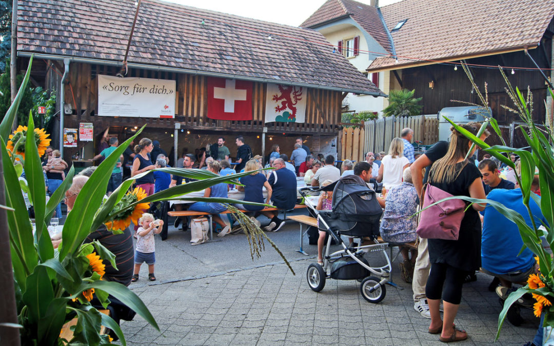Das legendäre Dorffest zum Geniessen
