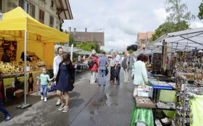 Der Maimarkt in Kerzers findet statt