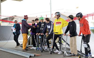 Skatepark mit neuen Rampen eingeweiht